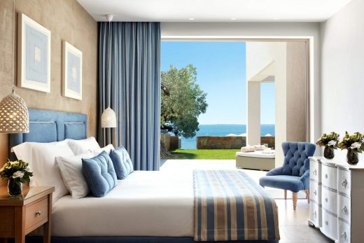 Ikos Olivia Rooms Deluxe Two Bedroom Bungalow suite Beachfront Room B sl...