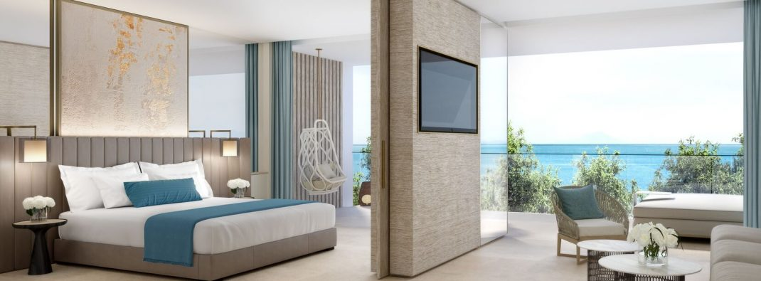 Upgrade to ONE BEDROOM SUITE – SEA VIEW